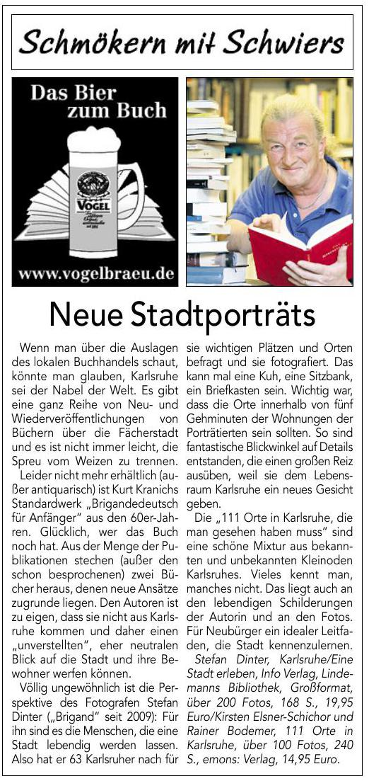 Rezension im Kurier 24.07.