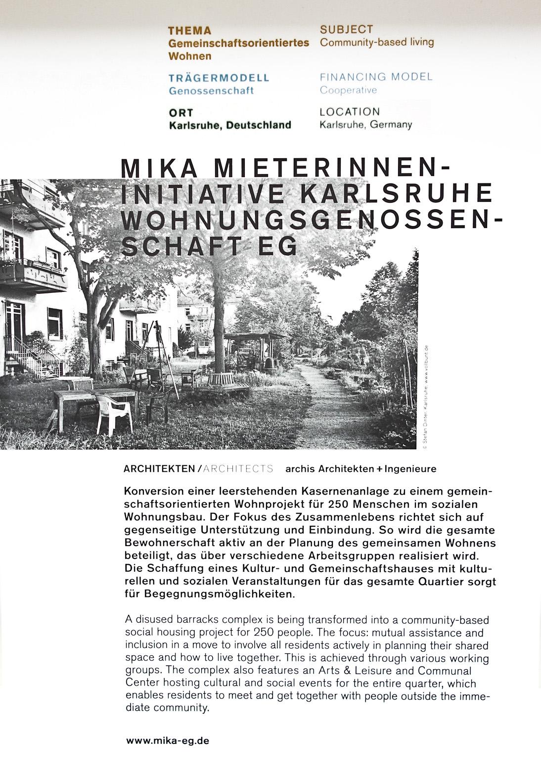 Stadtportrai im Deutschen Architekturmuseum DAM