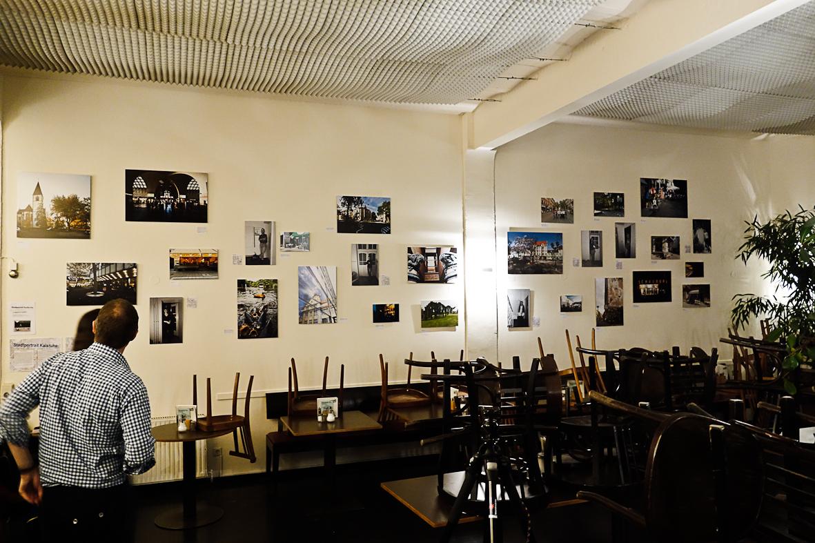 Im Caf Palaver Stadtportrait KarlsruheStadtportrait Karlsruhe Cafe Wohnzimmer